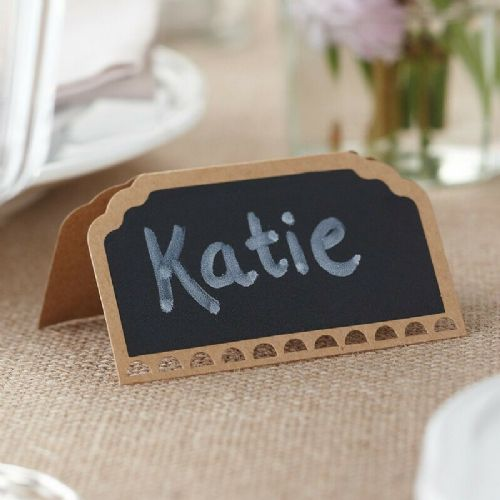 Chalkboard Place Cards 10pk
